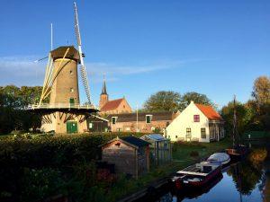 Korenaer molen, Abdijkerk, Museum Loosduinen, Korenaer huis, Margeretha van Hennebergweg